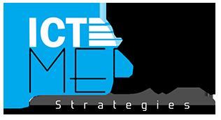 logo ict media strategies