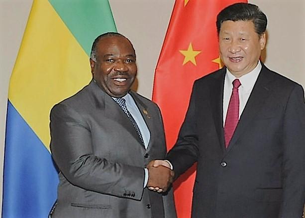 Ali Bongo Xi Jinping
